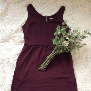 Bar III Dresses - Maroon dress // Sleeveless